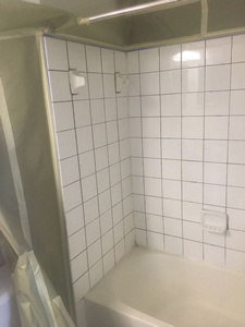Shower - During Renovation